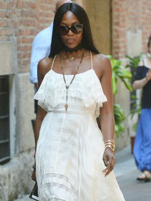 See Naomi Campbell's Sweet Tribute to Saint Laurent's Co-Founder