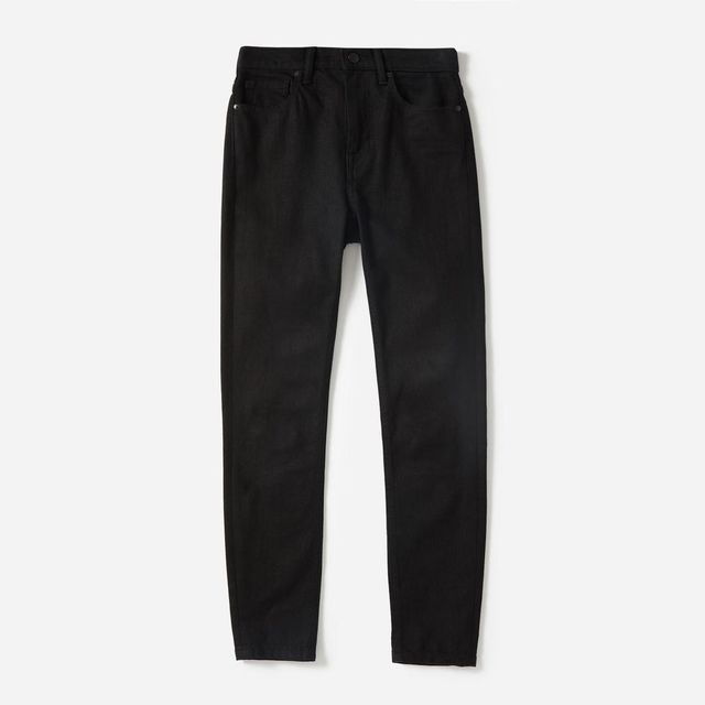 High-Rise Skinny Jean (Regular) by Everlane in Stay Black, Size 25