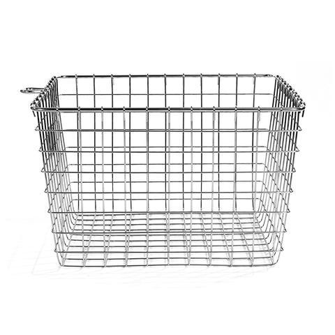 Wire Storage Basket, Medium, Chrome