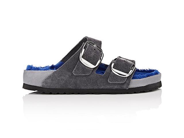 Women's Arizona Suede Double-Buckle Sandals