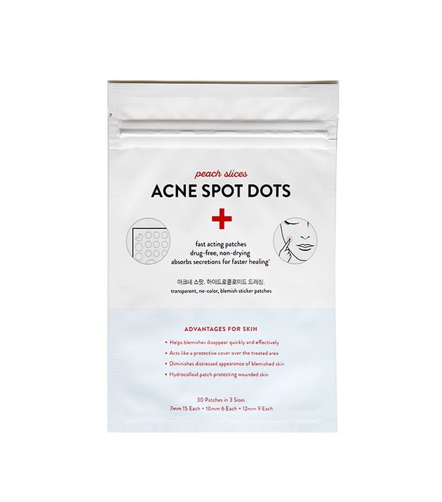 Peach Slices Acne Spot Dots - best korean skincare products