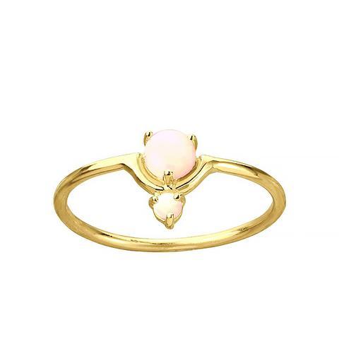 Blush Nestled Opals Ring