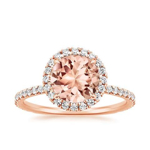 Morganite Waverly Ring