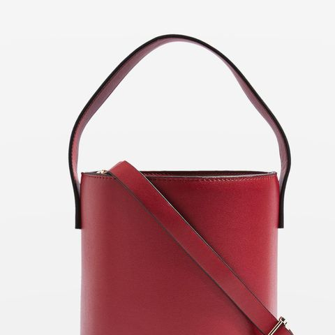Cherry True Bucket Bag
