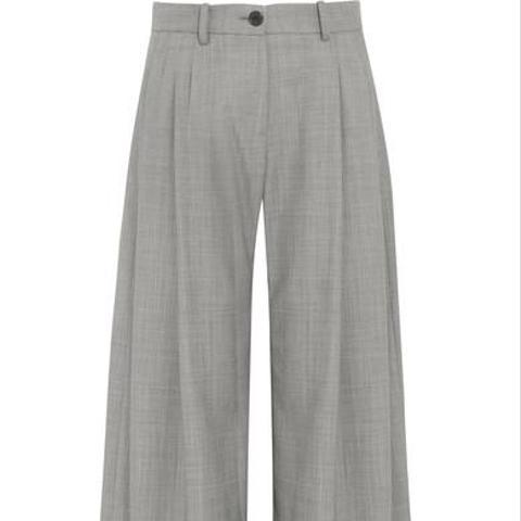 Inez Wool Wide-Leg Pants