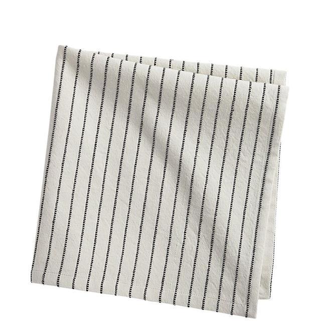 pinstripe black napkin