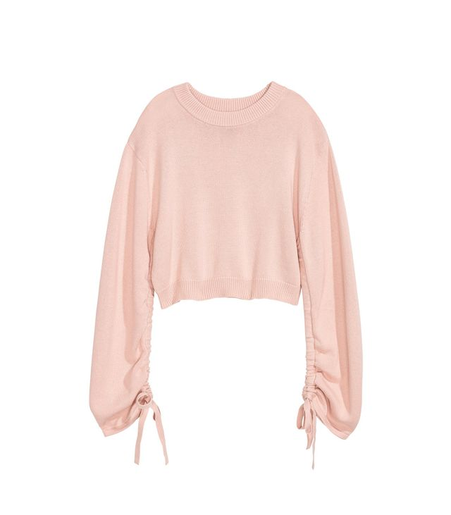 H&M Sweater With Drawstring