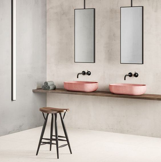 Prediction: Coloured Bathroom Sinks Will Be Your Next Pinterest Obsession