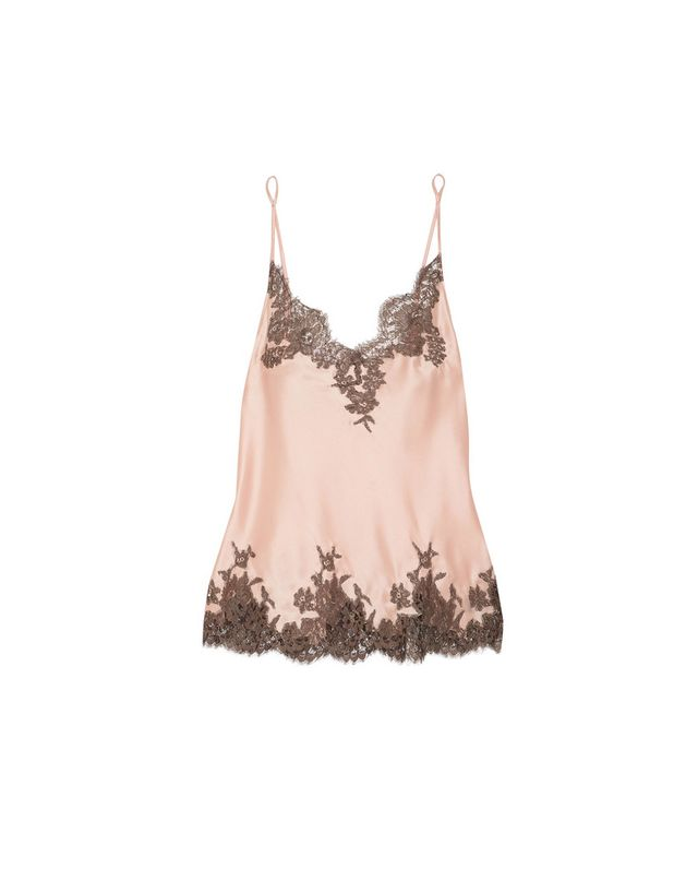 I.D Sarrieri Lace-Trimmed Camisole