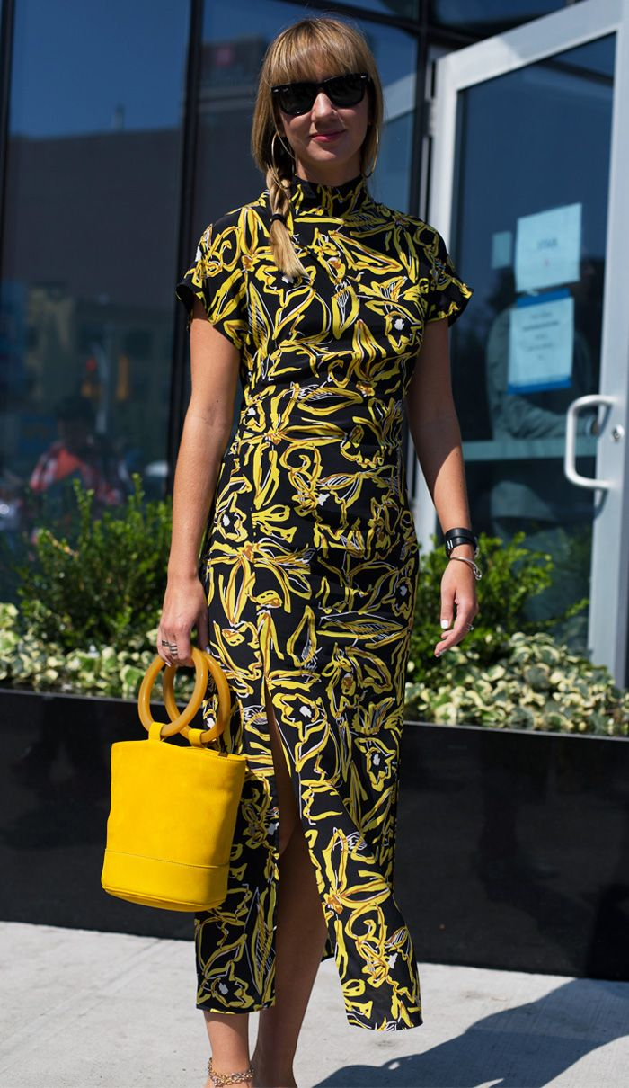 Cult dresses street style: Lisa Aiken in DVF