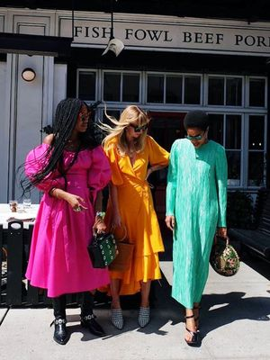 Forget It Bags, It's All About These 4 It Dresses Right Now