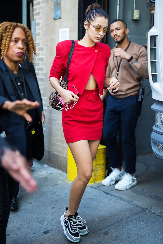 Best Celebrity Outfits From New York Fashion Week