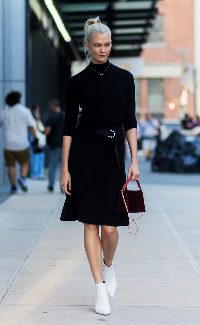 Karlie Kloss New York Fashion Week style