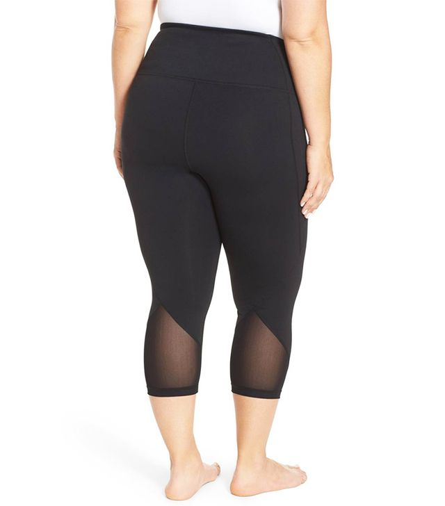 'Hatha' High Waist Crop Leggings