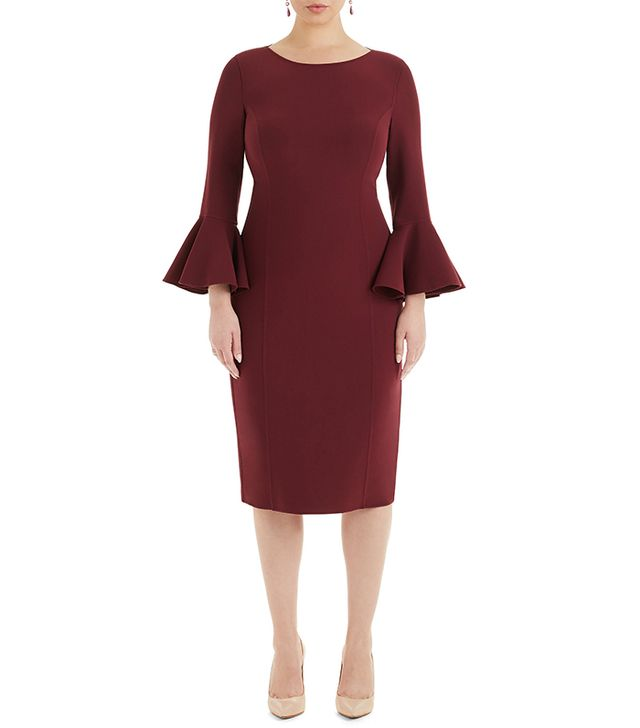 Michael Kors Boatneck Sheath Dress