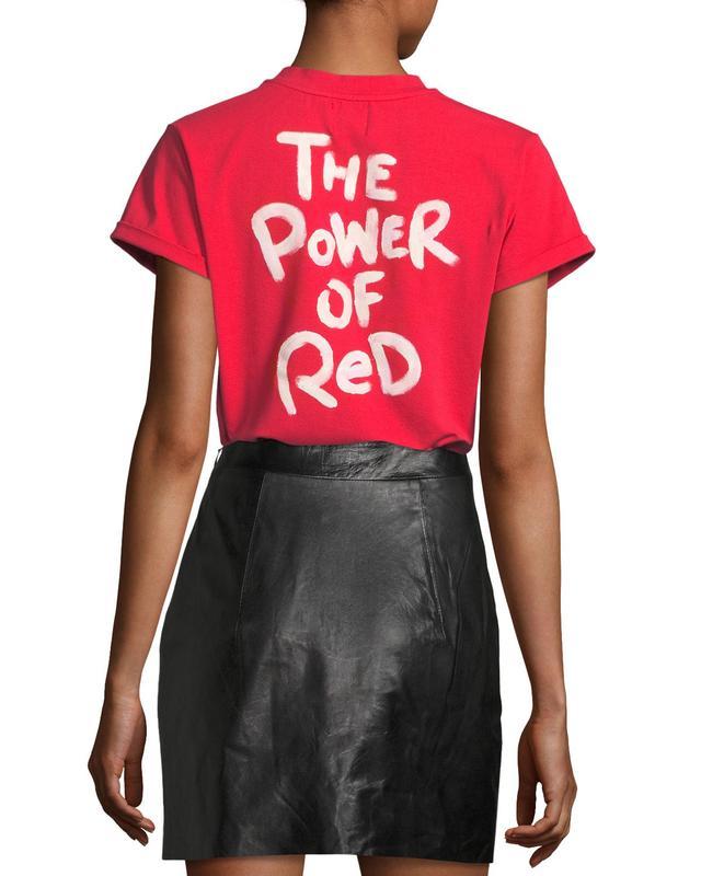 Bat Gio by Giovanna Battaglia Engelbert The Power of Red T-Shirt