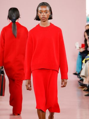 The One Outfit Idea We're Stealing From Mansur Gavriel's Debut RTW Collection