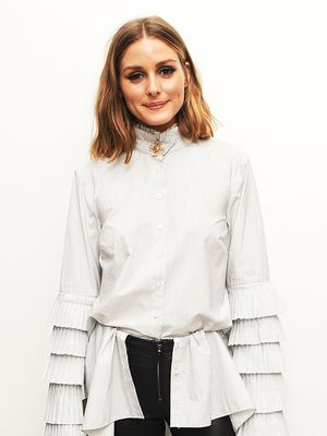 How Olivia Palermo Made Skinny Jeans and Flats Look Next-Level