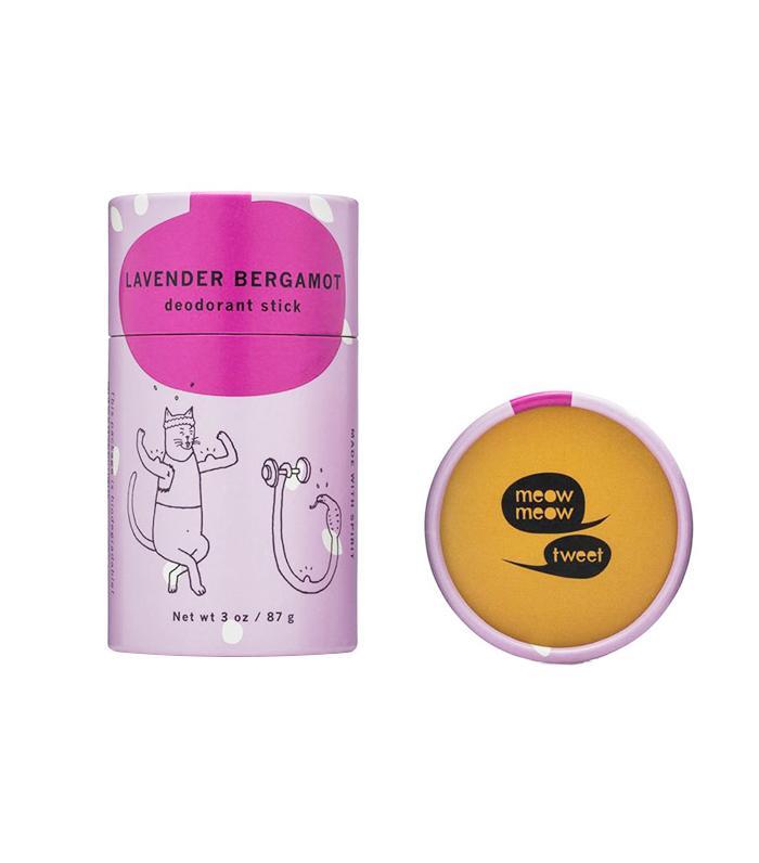 Lavender Bergamot Deodorant Stick by Meow Meow Tweet