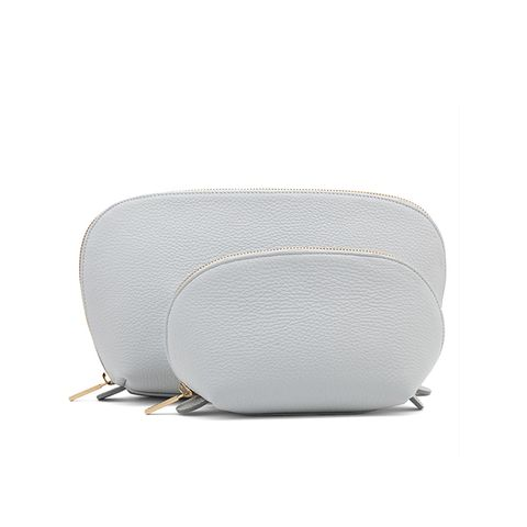 Travel Case Set in Pearl Grey