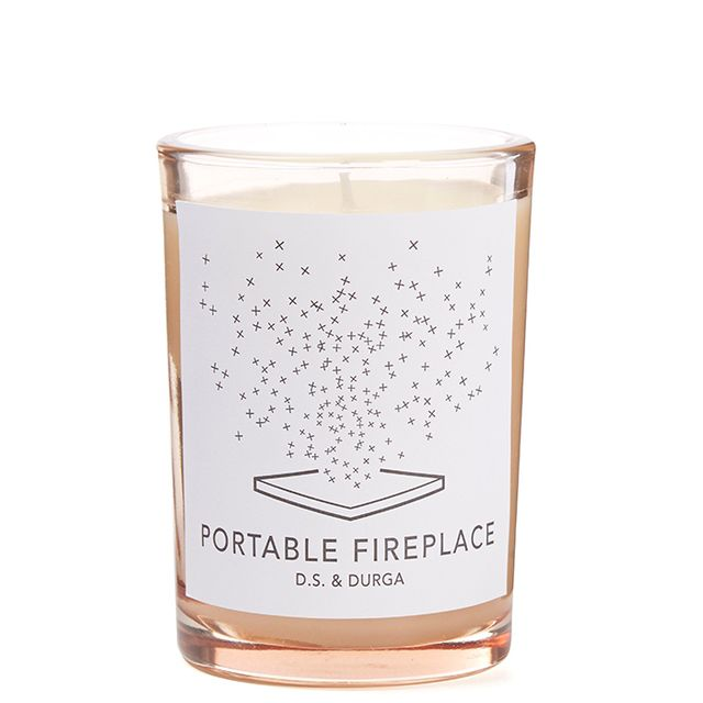 Portable Fireplace Candle