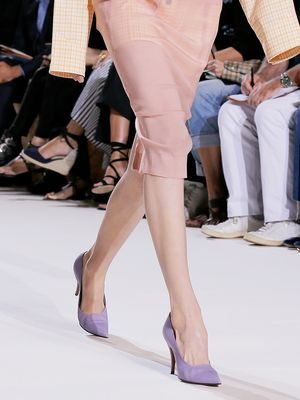 """Victoria Beckham Showed Us How to Pull Off a """"Naked"""" Skirt"""