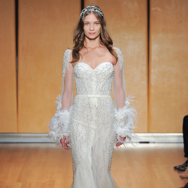 What Men Really Think About These Wedding Dress Trends