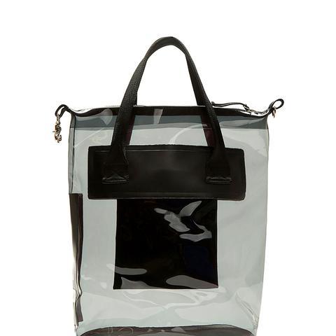 Void Transparent Waterproof Tote Bag