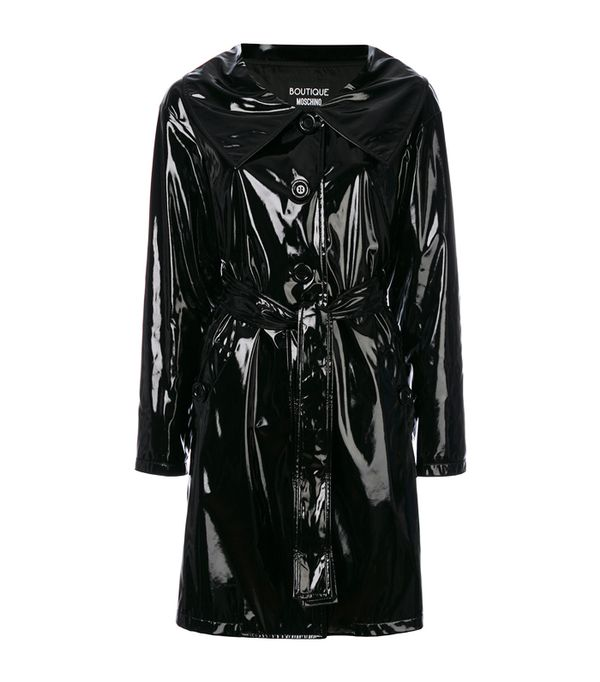 Boutique Moschino Belted Trench Coat