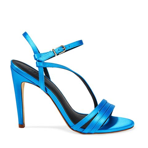 Vivian Satin Sandals