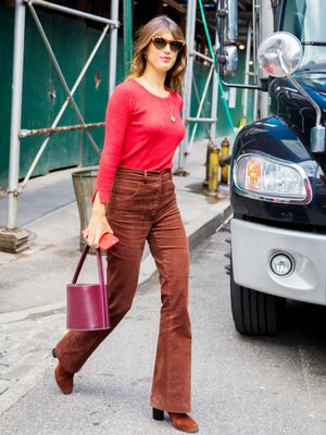 What a French It Girl Wears to NYFW