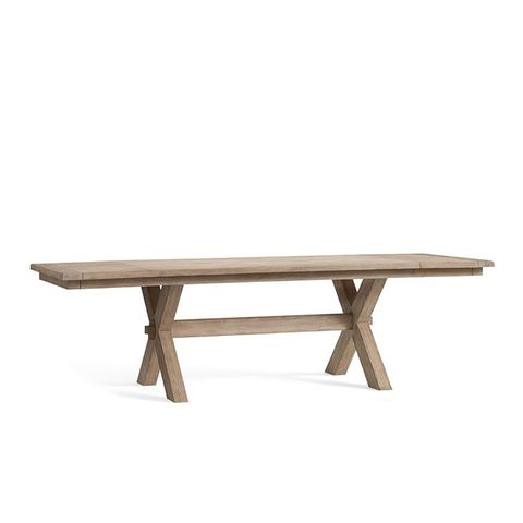 Toscana Extending Dining Table in Seadrift Finish