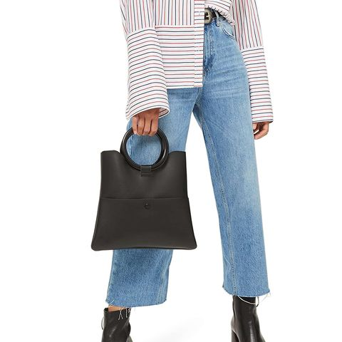 Crop Wide Leg Jeans