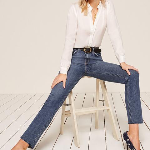 Liza High Straight Jean
