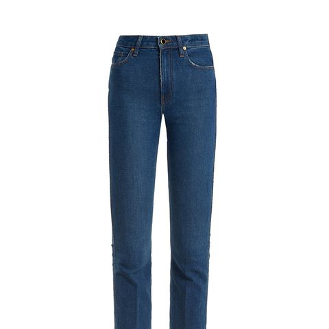 Benny Mid-Rise Kick-Flare Jeans