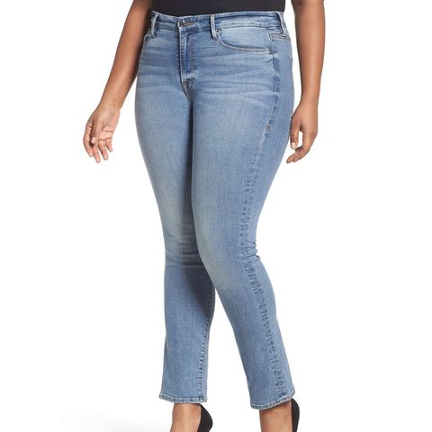 Women's Good American Good Straight High Rise Jeans