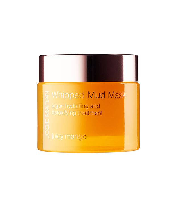 Josie Maran Whipped Mud Mask- best mud masks for fall