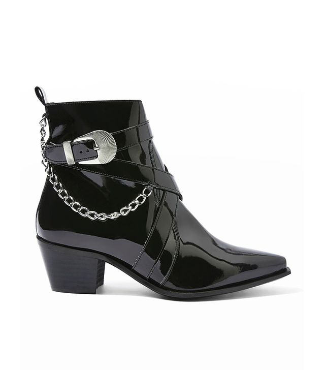 MOVE IT Western Ankle Boots