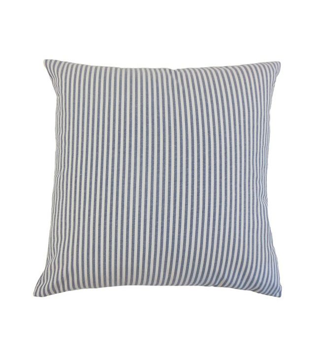 The Pillow Collection Stripe Throw Pillow