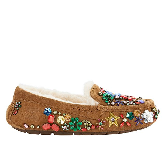 Jeremy Scott x Ugg Ansley Jeweled Slippers