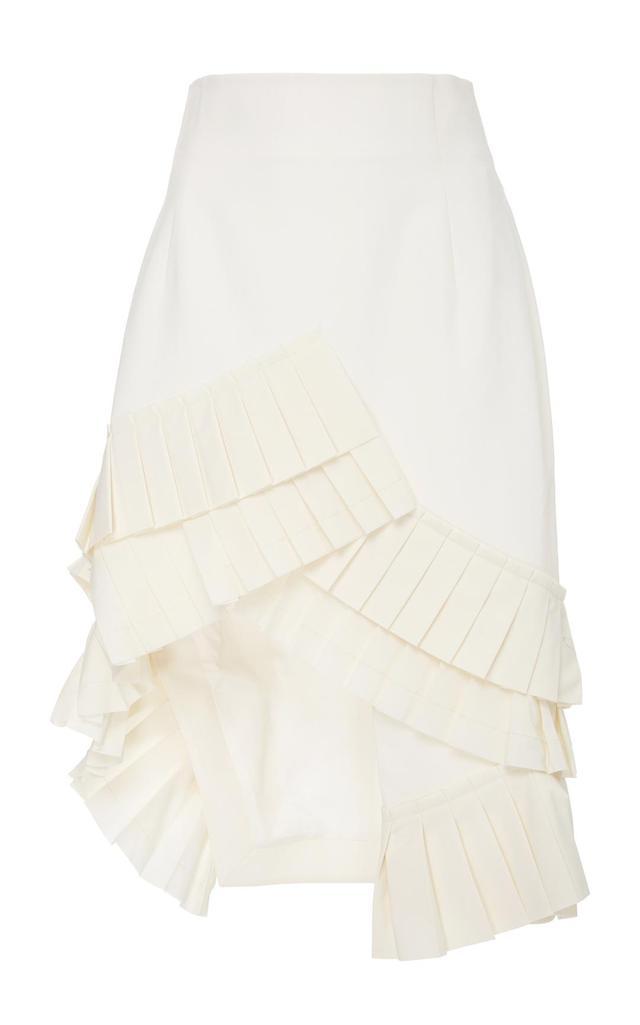 Seville Asymmetrical Ruffle Skirt