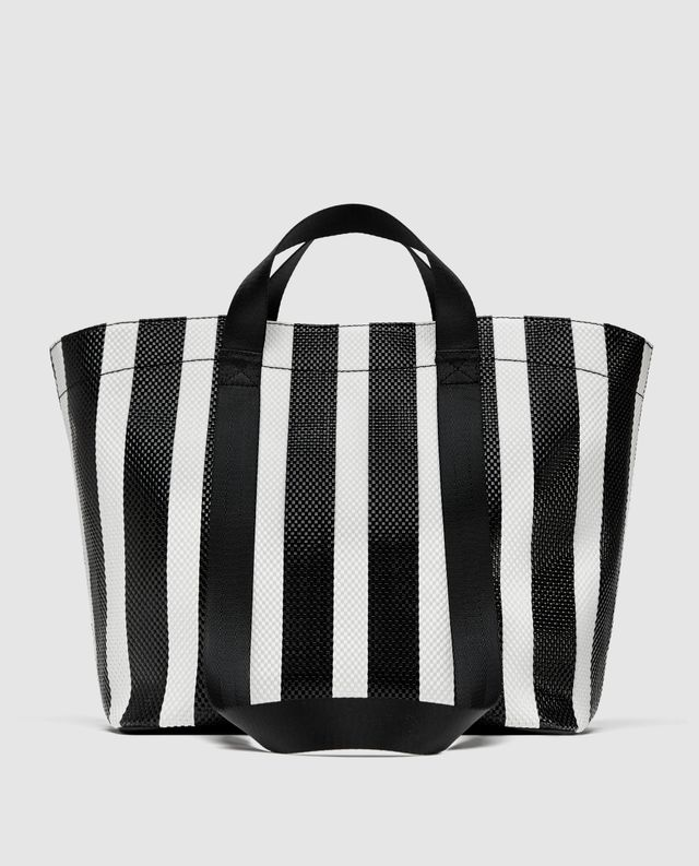 Zara Striped Tote