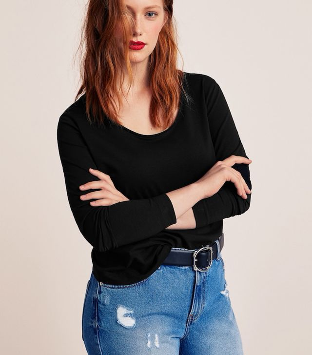 Violeta Essential Cotton-blend T-shirt