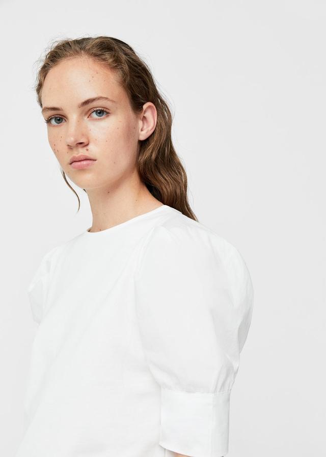 Mango Puffed Sleeved T-shirt