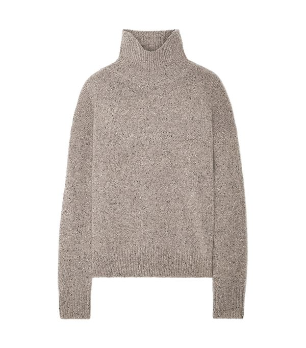 Donegal Cashmere Turtleneck Sweater