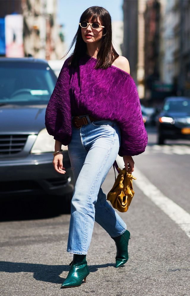 Colour trends autumn winter: Purple and green