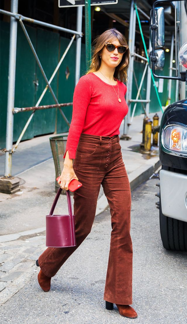 Colour trends autumn winter: red and brown