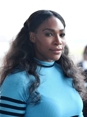 Serena Williams Just Shared an Adorable Photo of Her Newborn Daughter