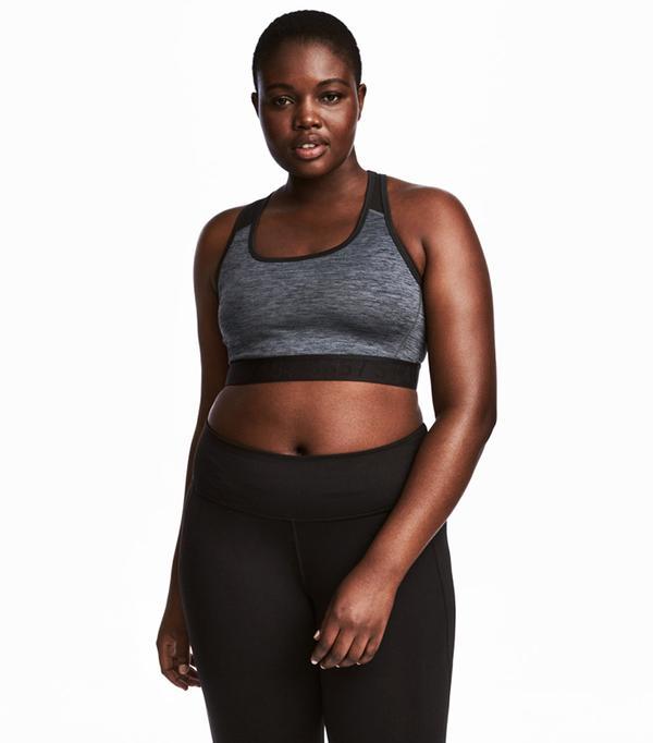 H&M+ Sports Bra Medium support