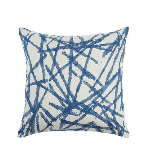 Brushstrokes Woven Throw Pillow